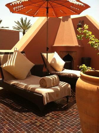 Royal Mansour Marrakech : roof top of our room