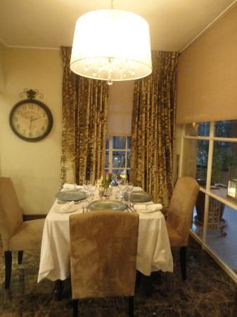The Residence Boutique Hotel : Dining area