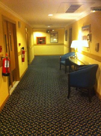 Golden Tulip Al Hamra: Corridor