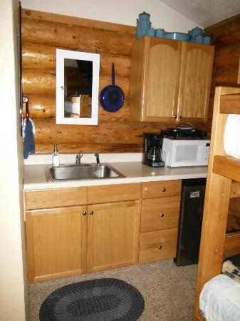 Hatcher Pass Bed & Breakfast: great kitchen area
