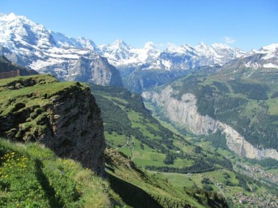Männlichenbahn Grindelwald: Stunning View from top of Maennlichen
