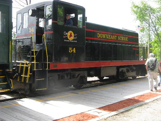 ‪Downeast Scenic Railroad‬