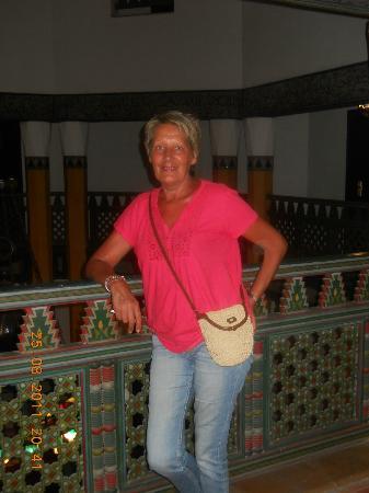 Hotel Marrakech le Tichka: le couloir des chambres