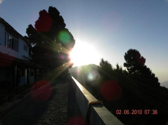 The Fair Light Trails Accommodation: Morning light