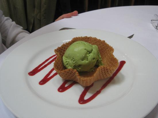 Terra: Green tea ice cream