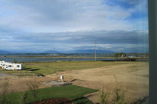 Swinomish Casino & Lodge: view from the room