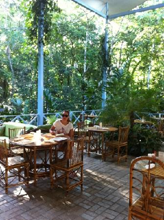 Hotel Plaza Yara: terraza desayuno