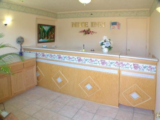 Nite Inn - Eugene: Nite Inn Lobby