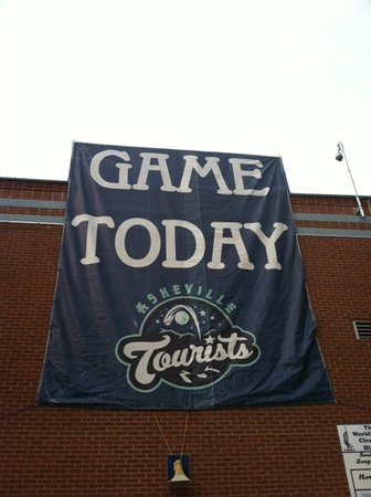 McCormick Field : Asheville Tourists