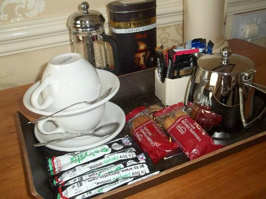 Royal Hotel: Coffee Tray