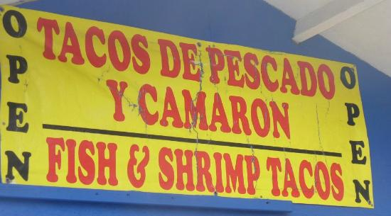 Tacho's K38 Fish & Shrimp Tacos: What to look for
