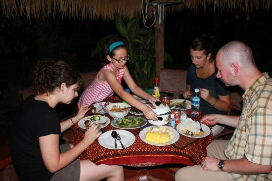 Meas Family Homestay: Dinner: One of many exeptional meals