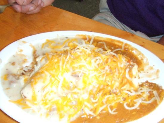 Patio Pancake Place: Frankie Breakfast Burrito   Half Order!