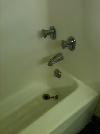 The Hannibal Inn and Conference Center : bathtub