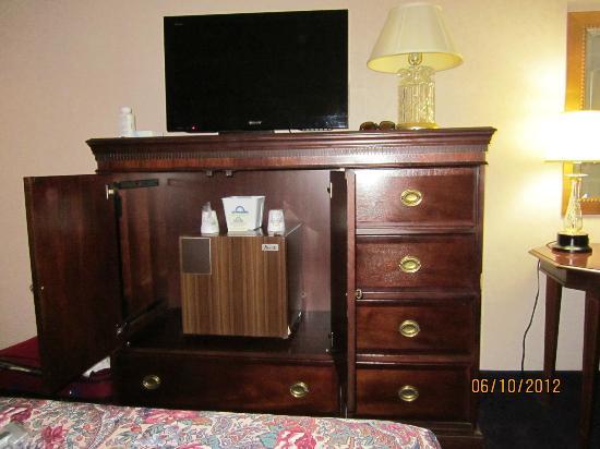 Fairfield Inn & Suites Cape Cod Hyannis: Convenient refrigerator.