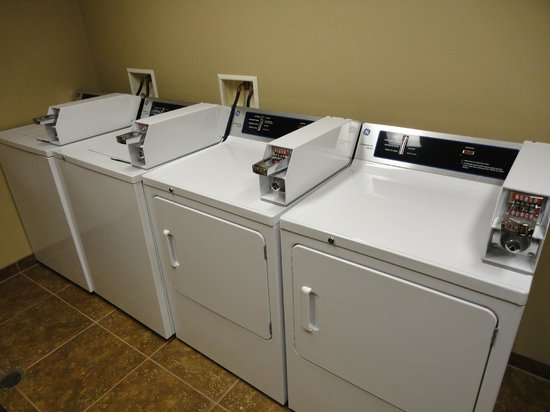 Best Western Rimstone Ridge Hotel: Guest Laundry - practical when on the road