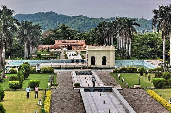 Pinjore, Ấn Độ: Garden View