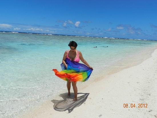 Agana, Mariana Islands: Приятный бриз.