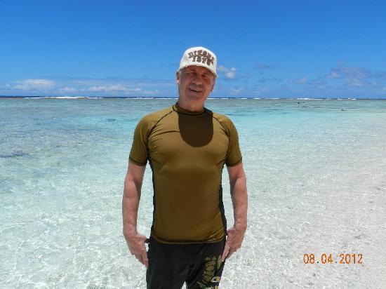 Agana, Mariana Islands: Плаваем в одежде - очень сильное солнце!