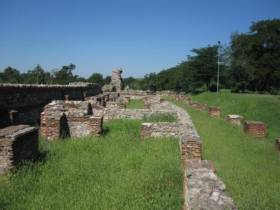 Spa Club Central: ruines romaines