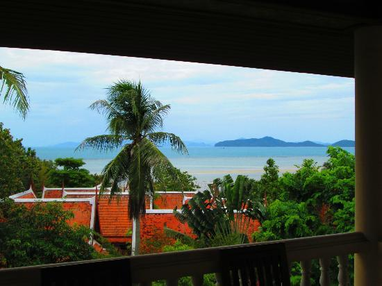 Banburee Resort & Spa: View from our balcony.