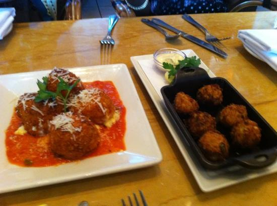 The Cheesecake Factory: The apps were pretty good