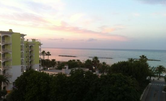 Hotel Bernard: vista dalla nostra camera