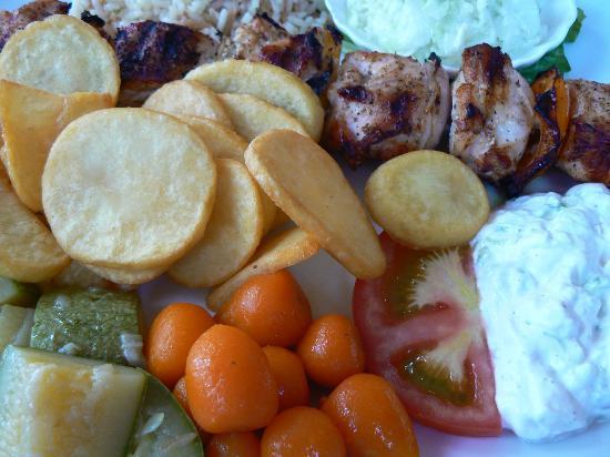 Afandou, Grèce : Restaurang Carousel i Kolymbia - väl värd ett besök!!