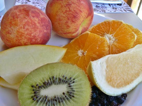 Mythos Beach Resort: Underbar frukostbuffé