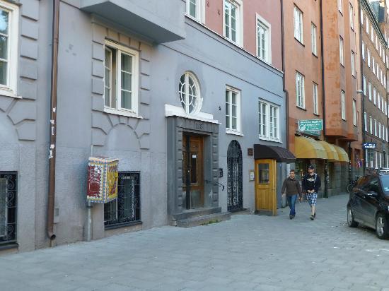 Skanstulls Hostel : Facade