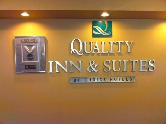 Quality Inn & Suites Conference Center: 2012 Platinum Award Winner!