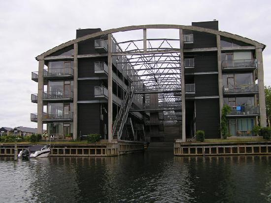 Copenhagen Star Hotel: Old Submarine Shed converted to Housing