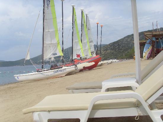 Club Med Bodrum Palmiye: école de voile et plage