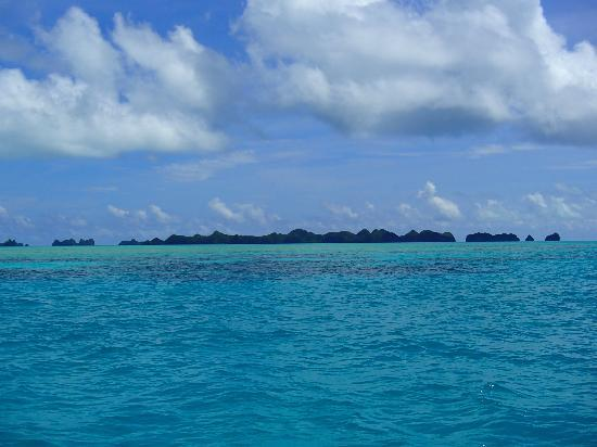 The wildlife preserve, Rock Islands - Palau