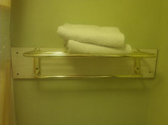 Days Inn Pensacola - Historic Downtown: Redneck towel rack