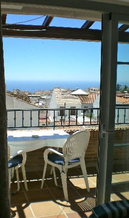 Hotel Casa Rosa: View from terrace of Room 10