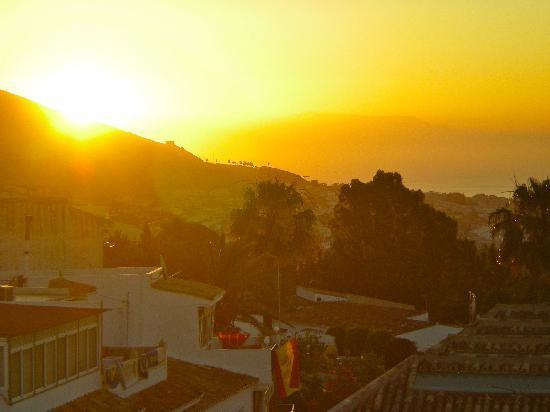 Hotel Casa Rosa: Sunrise from Room 10 at Casa Rosa