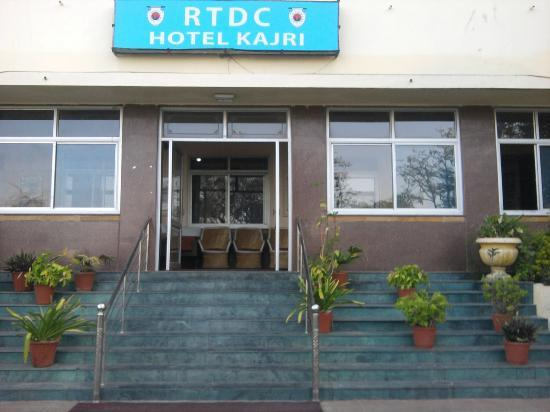 Kajri Hotel: entrance