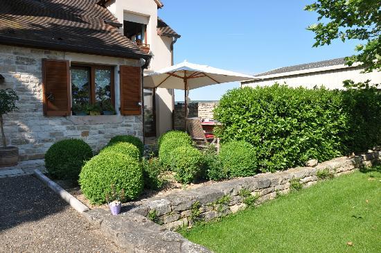 Hotel La Chouette: Breakfast terrasse