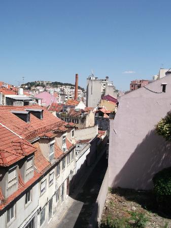 Residencial Milanesa: Uitzicht vanuit kamer 201