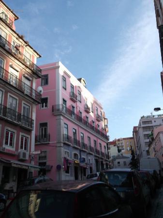 Residencial Milanesa: Vooraanzicht hotel