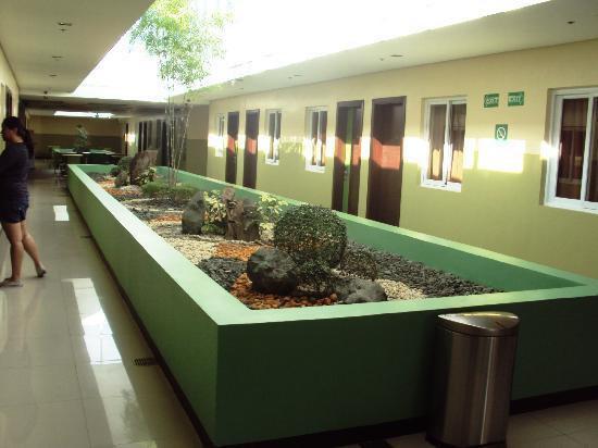 Go Hotels Tacloban: Green corridor
