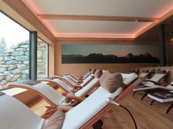 Wellness & Spa Hotel Ermitage: realxing area