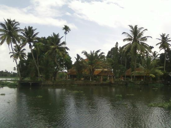 ‪‪Green Palace Kerala Resort‬: view from the river
