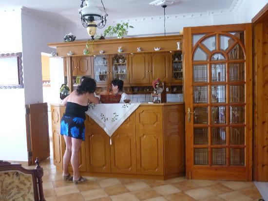 Armonia Hotel : aan de keuken