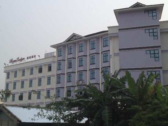 Regalodge Hotel Ipoh: view from the side