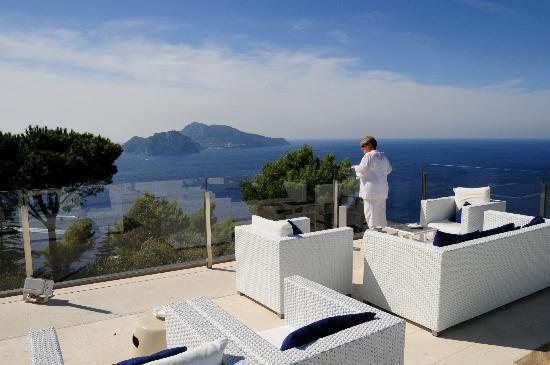 Relais Blu terrace, it's better than you think