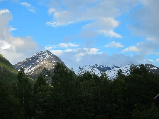 Jostedal Camping: View from campgrounds