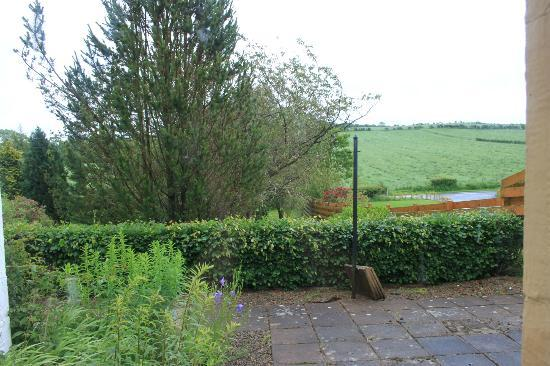 Kilmore Lodges: View from the Rose Cottage...The back
