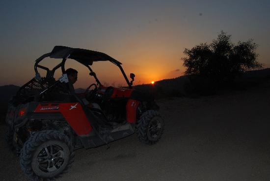 Jerusalem ATV Adventure Tours : Sunset